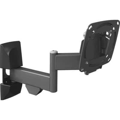Barkan 13 in to 29 in Full Motion - 4 Movement Flat / Curved TV / Monitor Wall Mount, up to 33 lbs, UL certified