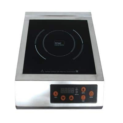 13 in. Glass Induction Cooktop in Stainless Steel with 1 Induction Element
