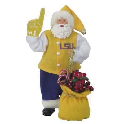 12 in. Lsu #1 Santa