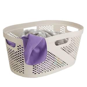 40 l Ivory Plastic Laundry Basket Organizer