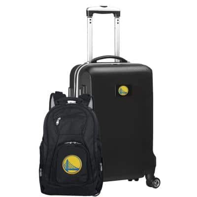 Golden State Warriors Deluxe 2-Piece Backpack and Carry on Set