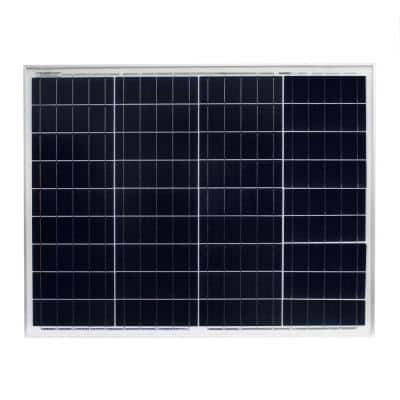 50-Watt Polycrystalline Solar Panel for RV's, Boats and Off Grid Applications