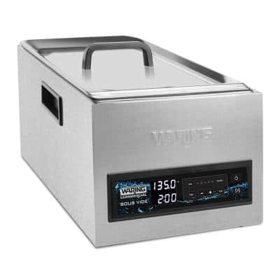 25-Liter (6.6 Gallon) Thermal Circulator Multi Cooker Silver 2-Racks and 2-Rack Lifts included