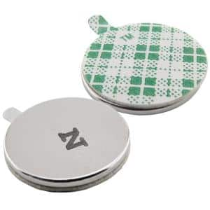 3/4 in. Dia Neodymium Rare-Earth Magnet Discs with Foam Adhesive (5-Pack)