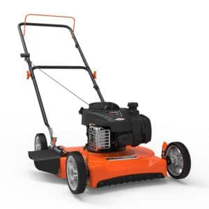 20 in. 125 cc 450e Series Briggs and Stratton Gas Walk Behind Push Mower with Side-Discharge Cutting System
