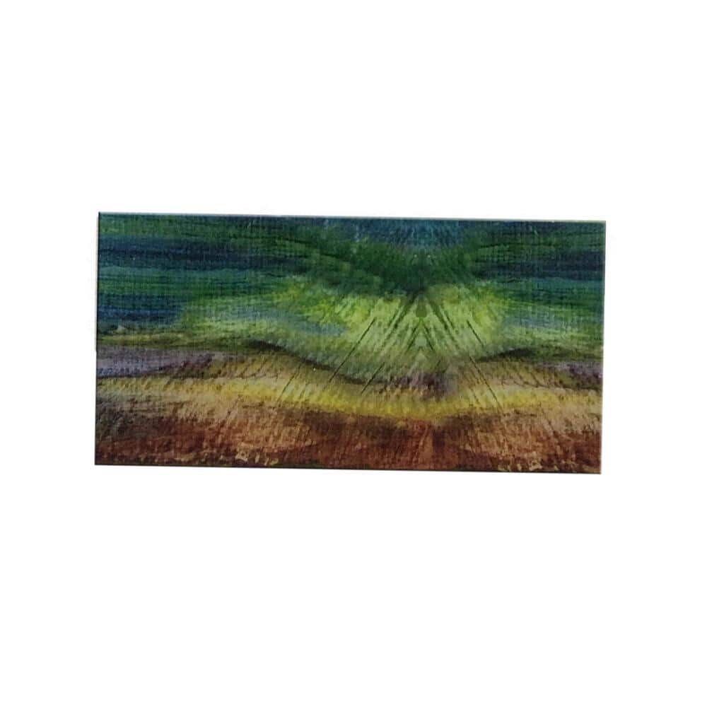 peel and stick van gogh watercolors 3 in x 6 in glass wall tile 48 pack ekb 04412 the home depot