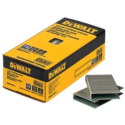 2 in. Leg x 1/2 in. Crown 15-1/2-Gauge Coated Steel Hardwood Flooring Staple (7,728 per Box)