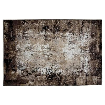 Lakeview Brown 5 ft. x 8 ft. Area Rug