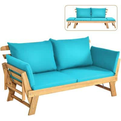 Strong woods for outdoor couch -- outdoor lounge.