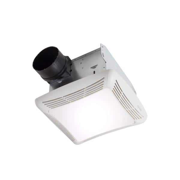 Broan Nutone 80 Cfm Ceiling Bathroom Exhaust Fan With Light Hb80rl The Home Depot