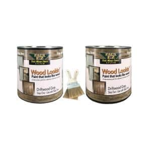 2-Gallon Driftwood Gray Large Specialty Paint Kit