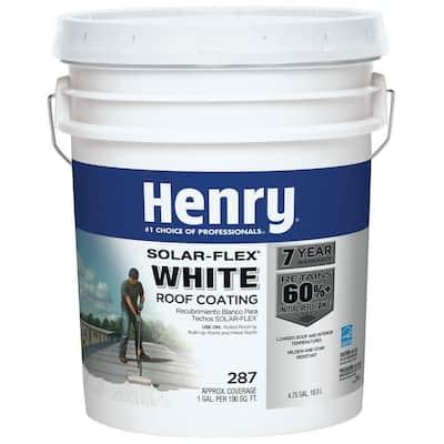287Solar-Flex White AcrylicReflective Elastomeric Roof Coating (16-Piece)