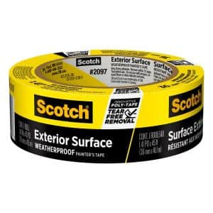 Scotch 1.41 in. x 45 yds. Exterior Surfaces Painter's Tape