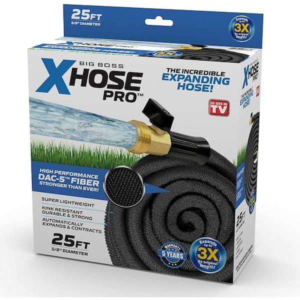 Xhose 5 8 In Dia X 25 Ft Pro Dac, 25 Foot Garden Hose Home Depot