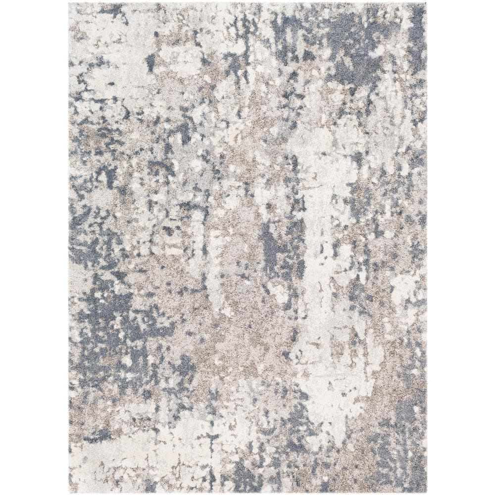 Artistic Weavers Safira Gray 3 Ft 11 In X 5 Ft 7 In Abstract Area Rug S00161022390 The Home Depot