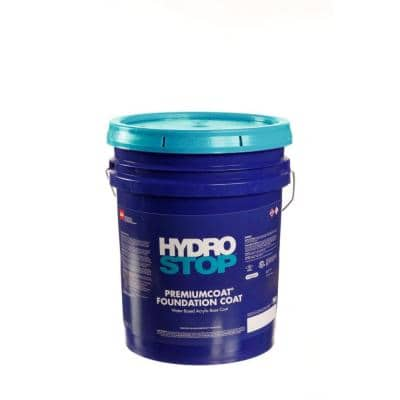 HydroStop PremiumCoat 5 Gal. Green-Tinted Acrylic Foundation Coat for Roof Coating