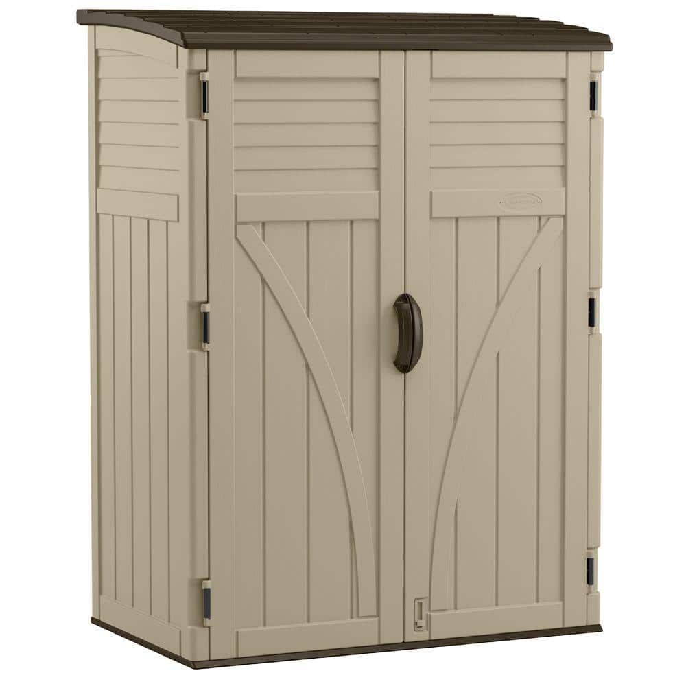 Large Vertical Storage Shed Bms5700