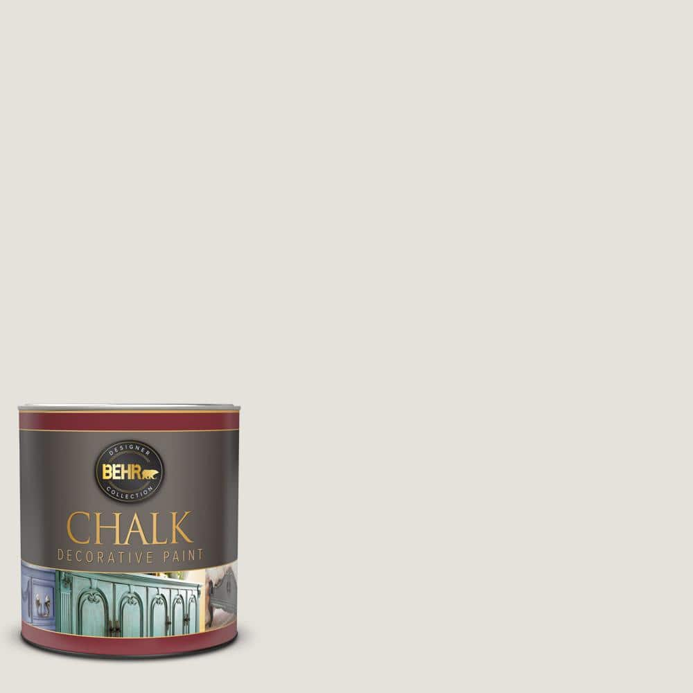 Behr 1 Qt Hdc Nt 21 Weathered White Interior Chalk Decorative Paint 710004 The Home Depot