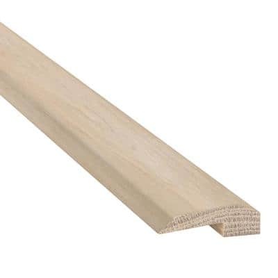 White Oak Sand Storm 0.63 in. Thick x 2 in. Wide x 94 in. Long Carpet Reducer/Baby Threshold Molding