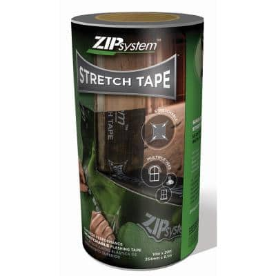 10 in. x 20 ft. ZIP System Linered Stretch Tape