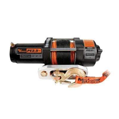 3,500 lb. Capacity PE3.5 ATV Winch with Rope and Remote