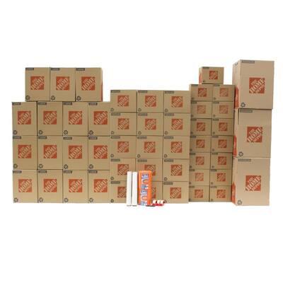 48-Box Large Moving Box Kit