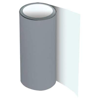24 in. x 50 ft. Gray Over Birch White Aluminum Trim Coil