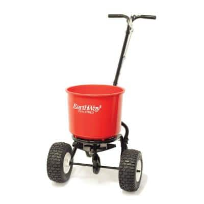 Plus 40 lbs. Commercial Capacity Seed and Fertilizer Spreader