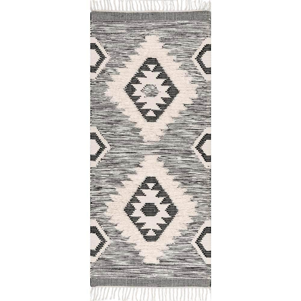 Nuloom Savannah Moroccan Fringe 3 Ft X 6 Ft Runner Spmo01a 2806 The Home Depot