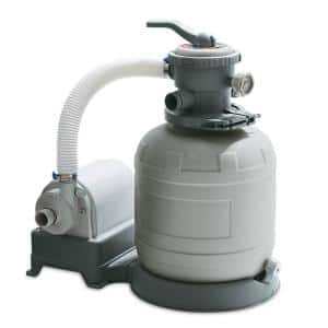 12 in. Sand Filter Pump System for Above Ground Swimming Pools