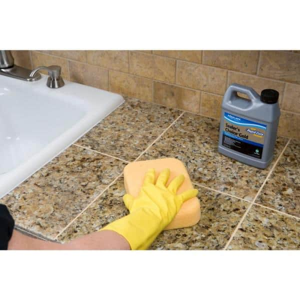 Custom Building Products Aqua Mix Sealer S Choice Gold 24 Oz Penetrating Sealer Amsc24z The Home Depot