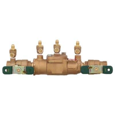 3/4 in. Bronze FPT x FPT Double Check Valve Assembly Backflow Preventer