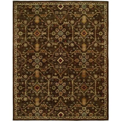 Empire Chocolate 6 ft. x 9 ft. Area Rug