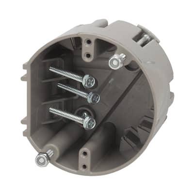 Smart Box Adjustable Depth 75 lbs. Light Fixture Support/50 lbs. Ceiling Fan Support