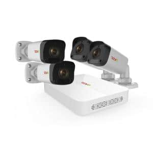 Ultra HD 8-Channel 1TB NVR Surveillance System with 4 2 Megapixel Cameras