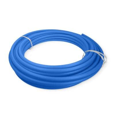 1 in. x 300 ft. Blue Polyethylene Tubing PEX A Non-Barrier Pipe and Tubing for Potable Water
