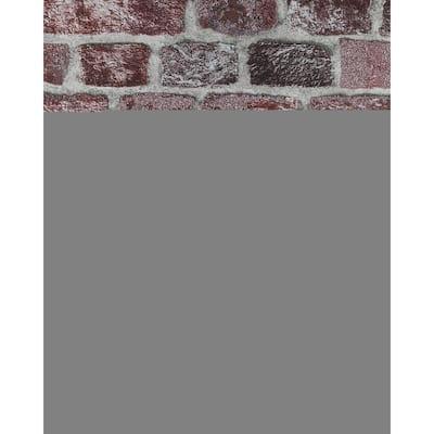 Baker Street Red Brick Wallpaper Sample