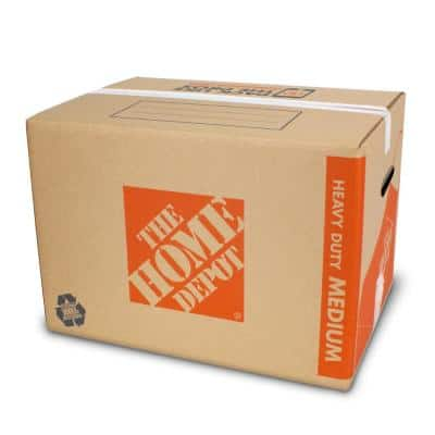 Heavy-Duty Medium Moving Box with Handles 10-Pack (22 in. L x 16 in. W x 15 in. D)