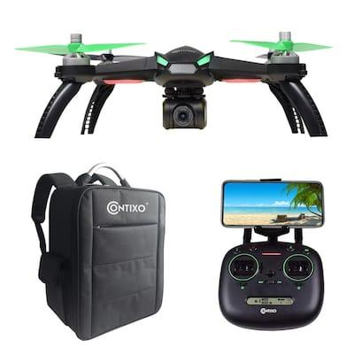 F20 RC Remote App Controlled Quadcopter Drone : 1080p HD WiFi Camera, Follow Me, Auto Hover, Altitude Hold, GPS