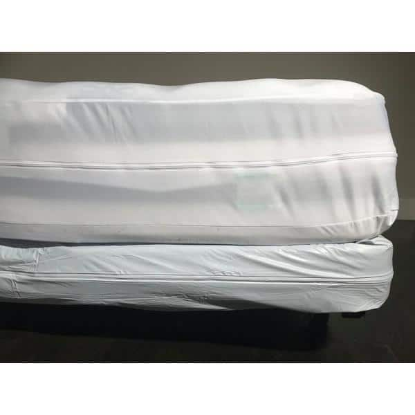 Hygea Natural Bed Bug Vinyl And, Mattress Storage Covers Target