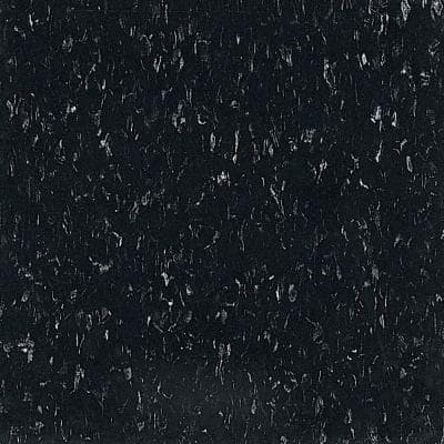 Imperial Texture VCT 12 in. x 12 in. Classic Black Standard Excelon Commercial Vinyl Tile (45 sq. ft. / case)