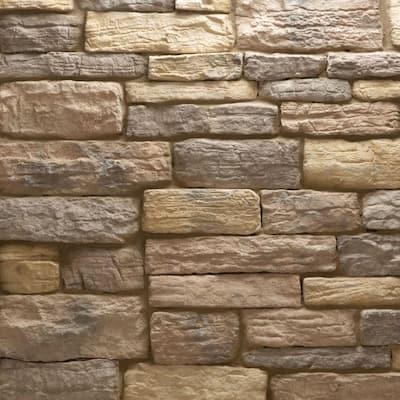 Weathered Edge Stone Monte Vista Flats 150 sq. ft. Bulk Pallet Manufactured Stone