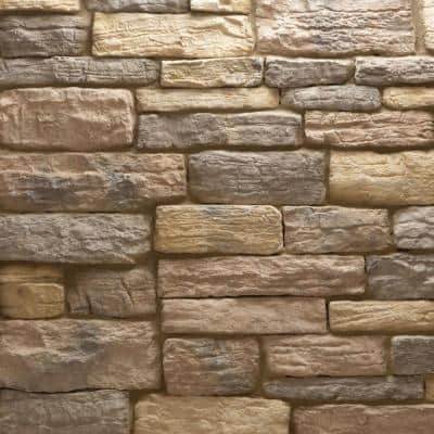 Weathered Edge Stone Monte Vista Corners 100 lin. ft. Bulk Pallet Manufactured Stone