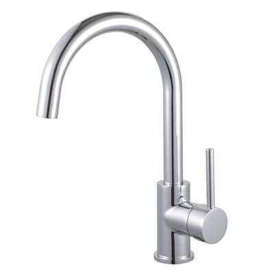 Concord Single Hole Single-Handle Vessel Bathroom Faucet in Polished Chrome