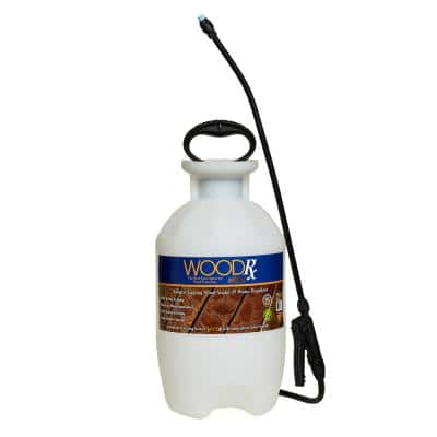 2 Gal. Ultra Natural Transparent Wood Stain and Sealer with Pump Sprayer/Fan Tip
