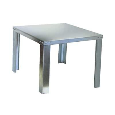 30 in. Galvnized Steel Water Heater Stand