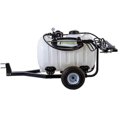 Trailer Sprayer 60 Gal. 12-Volt 7 Nozzle Boom for ATV's, UTV's and Lawn Tractors