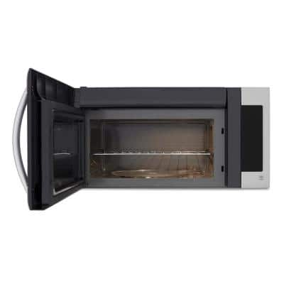 2.0 cu. ft. Over the Range Microwave Oven in Stainless Steel with SmoothTouch and Sensor Cooking Technology