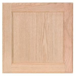 14.5 x 14.5 in. Cabinet Door Sample in Unfinished
