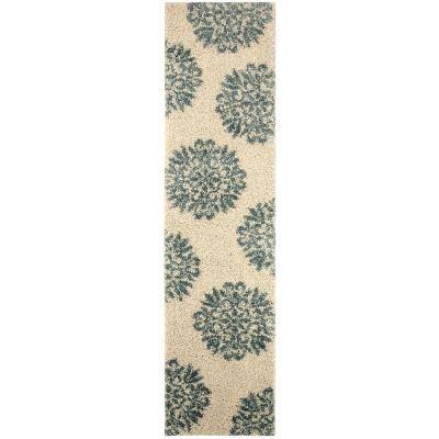 Exploded Medallions Starch 2 ft. x 7 ft. 10 in. Indoor Area Rug